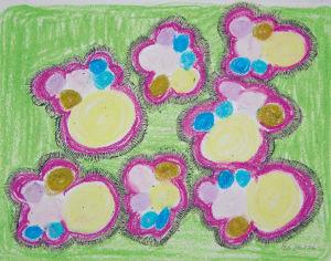 """""""Wolke 7"""", 21x29,7 cm, Erstellt 2006"""