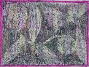 """Pflanzenscrafitti"" 21x29,7 cm, Erstellt 2006"