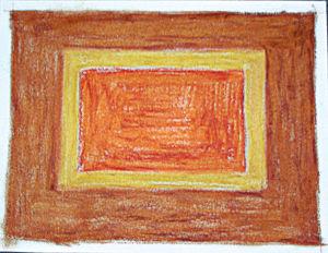 """""""Meditativer Teppich"""", 21x29,7 cm, Erstellt 2008"""