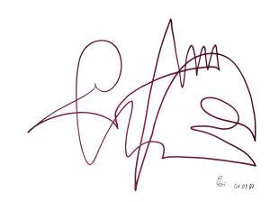 """""""Palette"""", 21x29,7 cm, Erstellt 09/1997"""