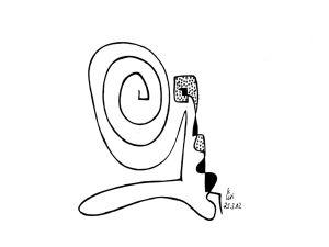 """""""abstrakte Neun"""", 20x21 cm, Erstellt 03/2002"""