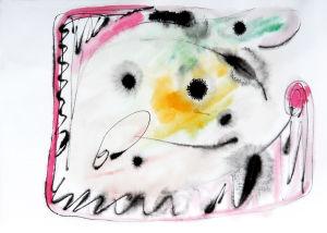 """""""Eingerahmte Impression"""", 21x29,5 cm, Erstellt 03/2008"""