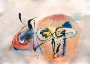 """""""Forscher"""", 18x24 cm, Erstellt 12/2005"""