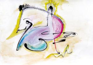 """""""Knüffeltier"""", 20x27 cm, Erstellt 03/2008"""
