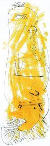 """""""musikalisches Sams"""", 20x45 cm, Erstellt 02/2008"""