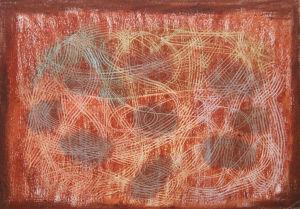 """""""Scrafitti braun"""", 21x29,7 cm, Erstellt 2005"""