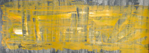 """smog in the city"", Acryl, 17,5x50 cm, Erstellt 02/08"
