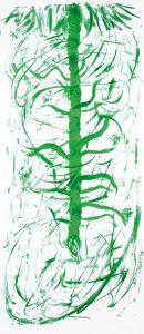 """""""Urzeit-Flora"""", 17,5x50 cm, Erstellt 03/2007"""